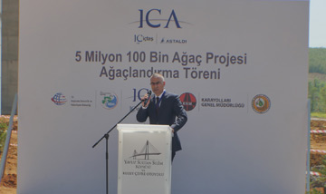 ICA adds 3.7 million trees and plants to Istanbul's nature