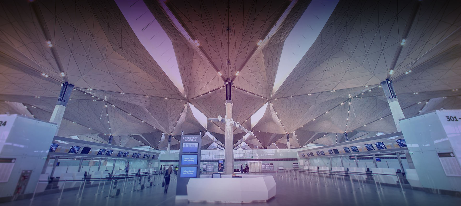 PULKOVO INTERNATIONAL PULKOVA AIRPORT / RUSSIA